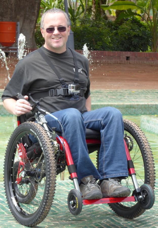 Mountain Trike off-road wheelchair