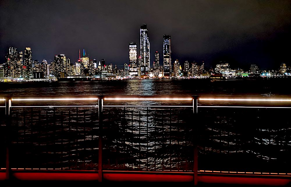 View of Manhattan from the Chart House Restaurant